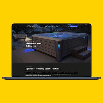 hotspring spas site web