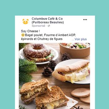 Columbus café Beaulieu facebook ads