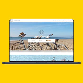 Les vélos de l'Île de Ré site web