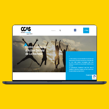 CCAS La Rochelle site web