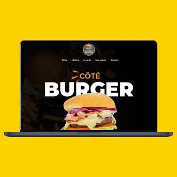 côté burger site web
